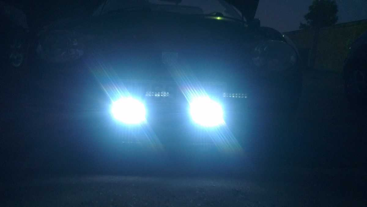 MGF & MG TF Owners Forum - DRL\'s semi installed and working -