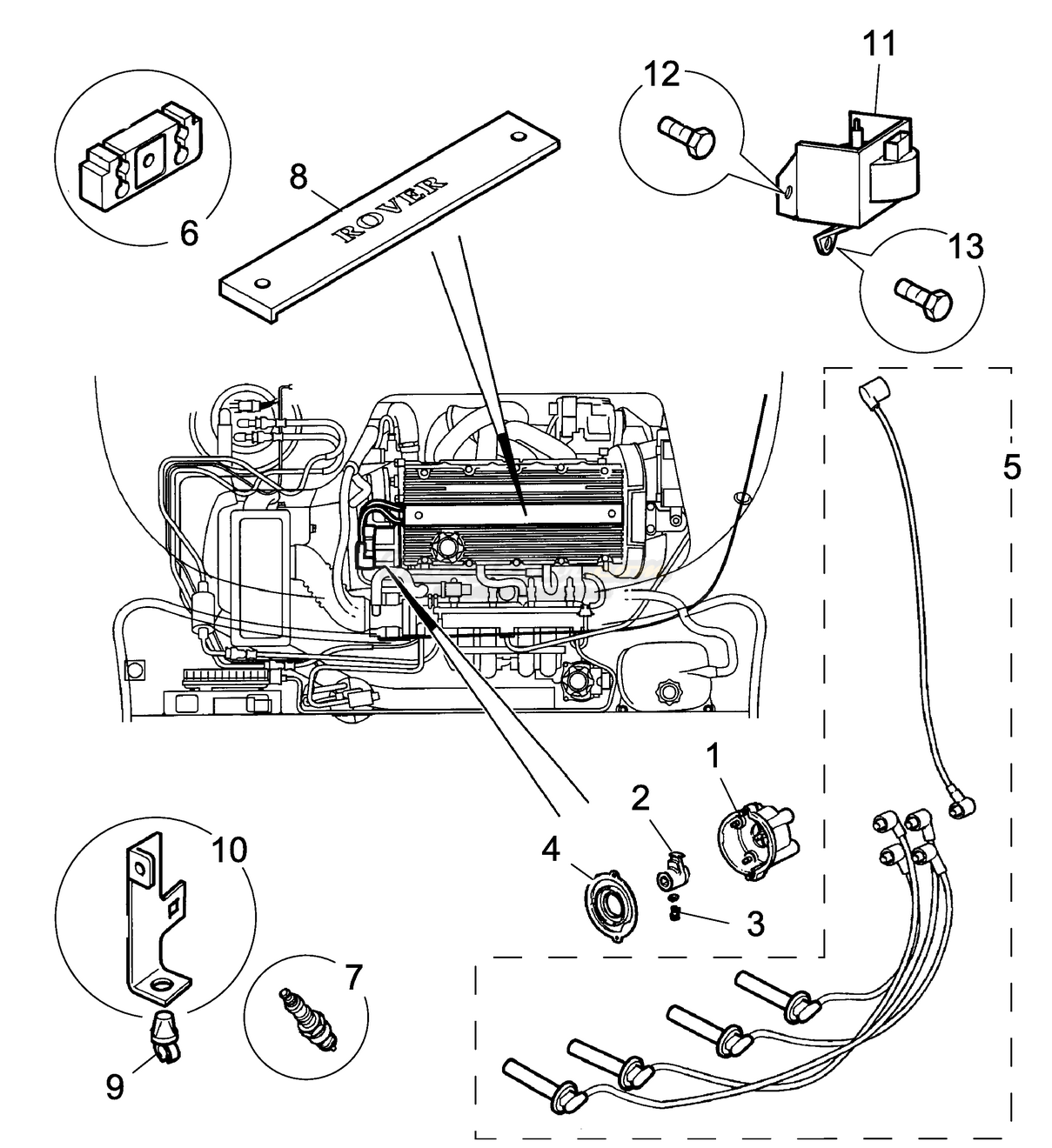 Ignition Components - Manual